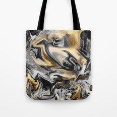 Gold Veins Tote Bag
