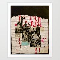 Heath Hen Art Print