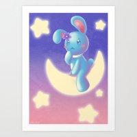 Waiting On The Moon Art Print