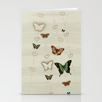 Butterfly Coordinates Ii… Stationery Cards