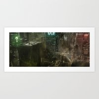 I believe in Gotham City Art Print