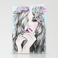 Coup de foudre Stationery Cards