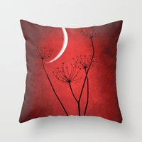 Red Is On Throw Pillow