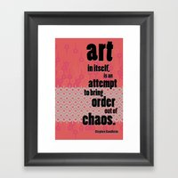 Quote 1 Framed Art Print