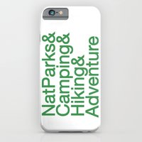 National Parks & Hiking & Camping & Adventure iPhone 6 Slim Case