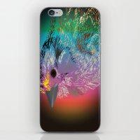 Rainbow Bird iPhone & iPod Skin