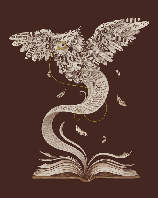 Flow of Wisdom Art Print