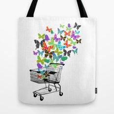 Urban Butterflies Tote Bag