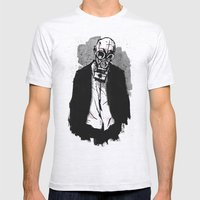 The Wolf Mens Fitted Tee Ash Grey SMALL