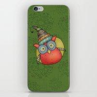 Puki Owl iPhone & iPod Skin