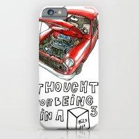 Mini Cooper Classic in Red iPhone 6 Slim Case