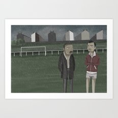 Training  Art Print