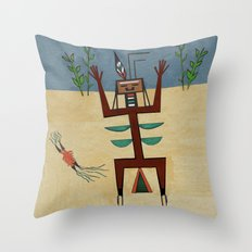 Healing Ceremony Throw Pillow