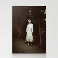 Ghost Girl Stationery Cards