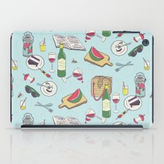 messy picnic iPad Case