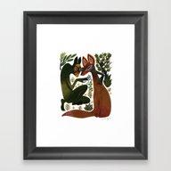 The Spirit Temptation Framed Art Print