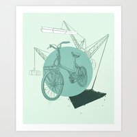 3 Speed Art Print