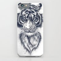 iPhone & iPod Case featuring Tiger by Anna Tromop Illustration