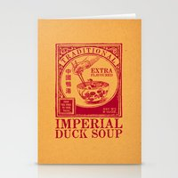 Imperial Duck Soup Stationery Cards