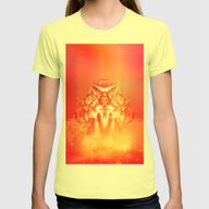Prometheus Uprising Womens Fitted Tee Lemon SMALL