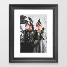 Modern Romantics Framed Art Print