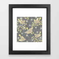 Freeflying Framed Art Print