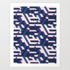 SEQUENCE 02B Art Print