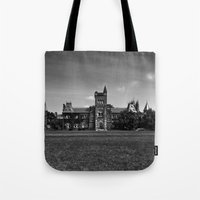 University College Main Building Toronto Canada Tote Bag