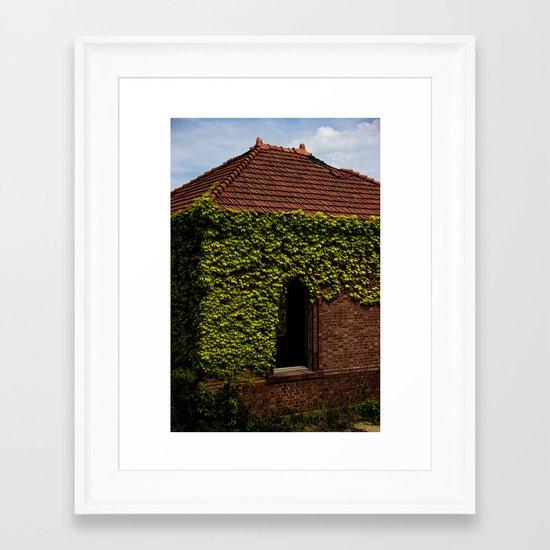 Pump house Framed Art Print
