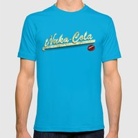 Nuka-Cola Mens Fitted Tee Teal SMALL