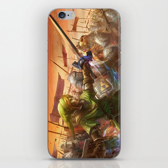 Legendary Battle  iPhone & iPod Skin
