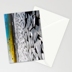 Broken ice floes Stationery Cards