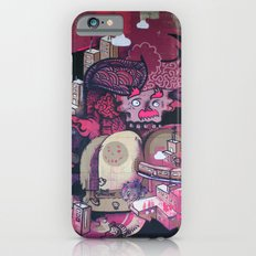 Dont Worry - Party Hard (Pink) Close Up iPhone 6 Slim Case