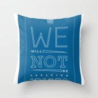 Freaking Idiots Throw Pillow