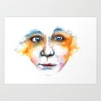 Alcedo Atthis I Art Print