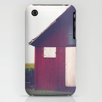 iPhone 3Gs & iPhone 3G Cases featuring Red Barn by Olivia Joy StClaire