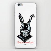 Donnie Darko: FEAR • FRANK • LOVE iPhone & iPod Skin