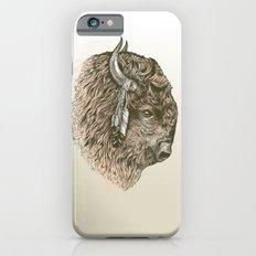 Buffalo Portrait iPhone 6 Slim Case