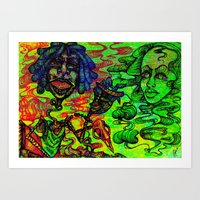 Fun Times With Mary Jane… Art Print