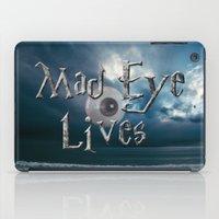 Mad Eye Lives! iPad Case