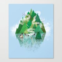 Mysterious Island Canvas Print