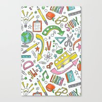 School Is Cool Canvas Print