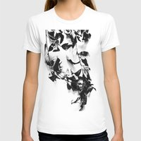 T-shirts featuring Bay leaves 4 by Lora Si