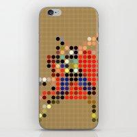 Mr Thunder iPhone & iPod Skin