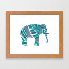 Indian Elephant No.2 Framed Art Print
