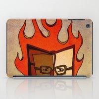 Prophets of Fiction - Ray Bradbury /Fahrenheit 451 iPad Case