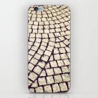 cobblestone pathway iPhone & iPod Skin