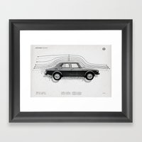 Aerodynamic Technology Framed Art Print