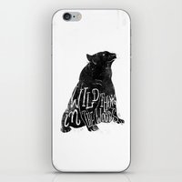 Wild Thing In The Woods iPhone & iPod Skin