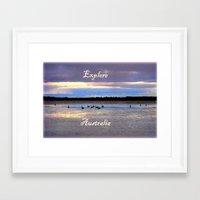 Explore Australia Framed Art Print